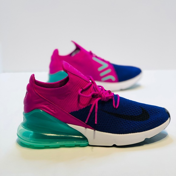 official photos c27bb f0820 Nike Air Max 270 Flyknit Men's SIZE 10 #AO1023 401 NWT